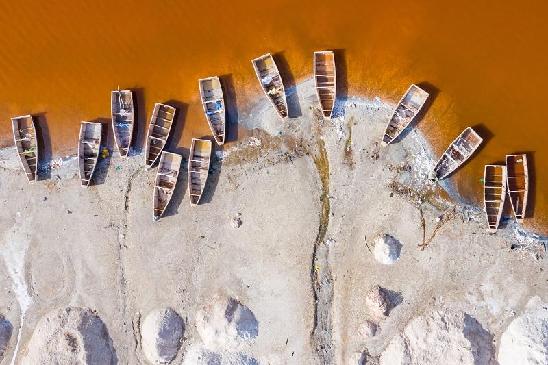 Barcos en Senegal