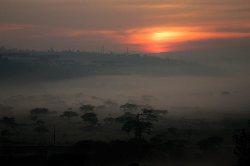 Niebla en Ruanda