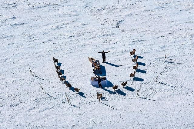 cena antártida