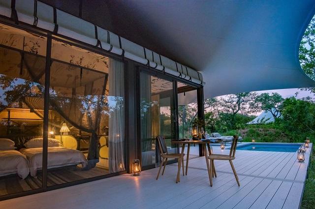 Habitación con piscina privada en Sudáfrica en Kruger