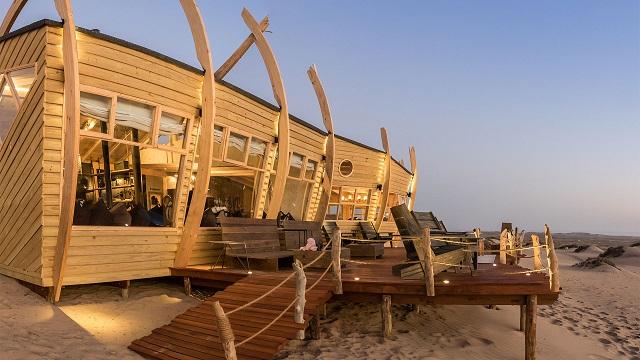 Pabellón del Shipwreck Lodge