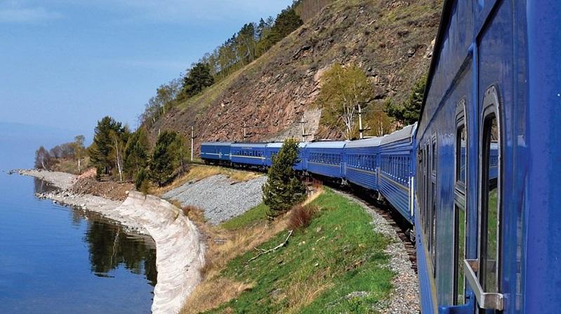 Tren por Rusia