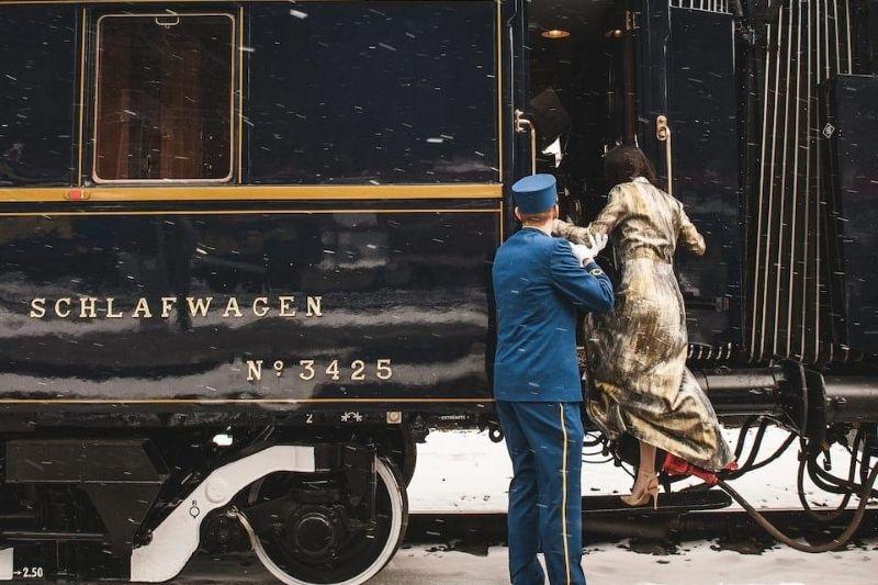 Glamour en trenes de lujo