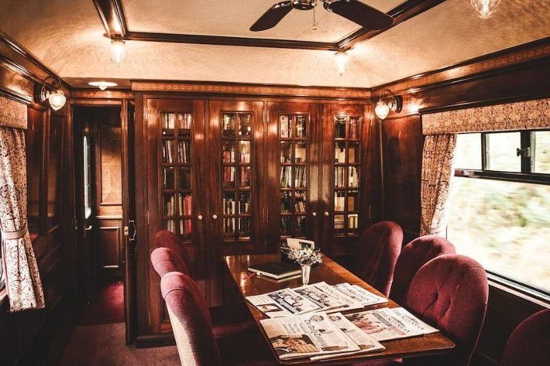 Interior del Orient Express