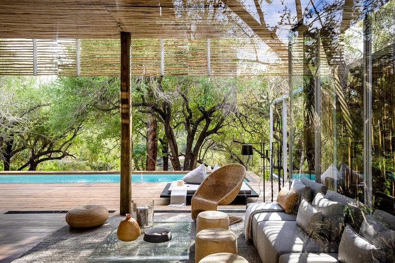 Villa con piscina privada en Sudáfrica