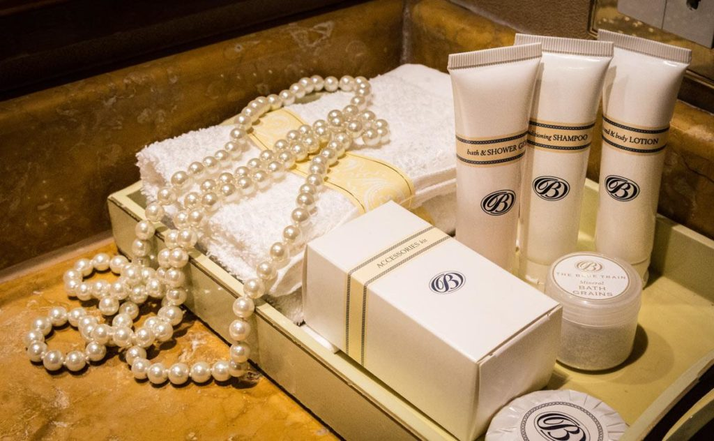 Amenities del Blue Train South Africa