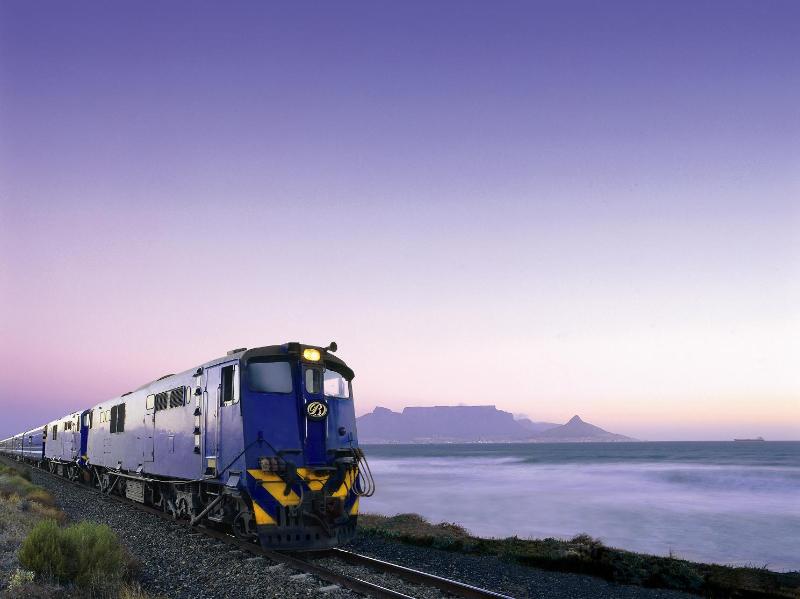 Blue Train en Table Mountain