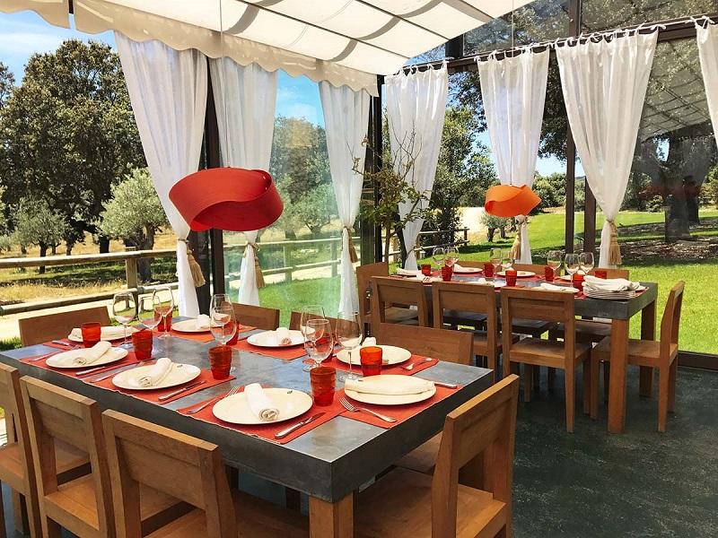 Restaurante de la Hacienda Zorita