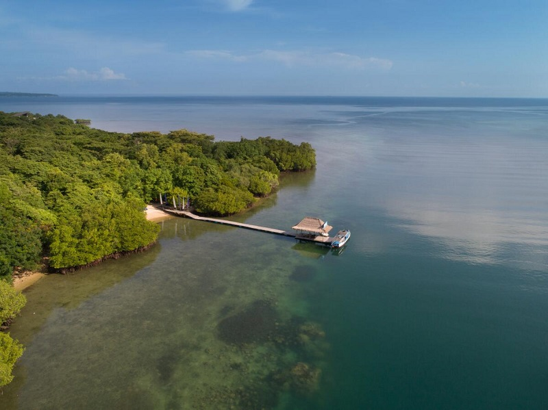 Embarcadero del Plataran Menjagan Resort en Bali