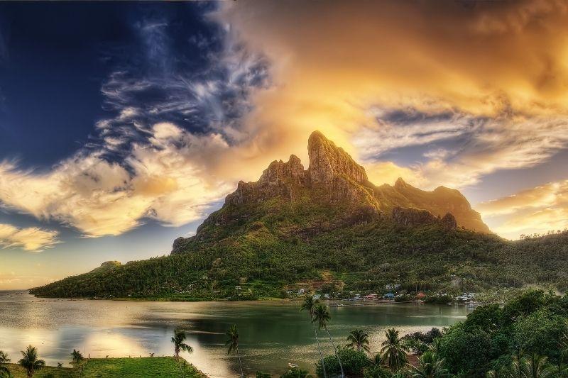 Montaña de Bora Bora