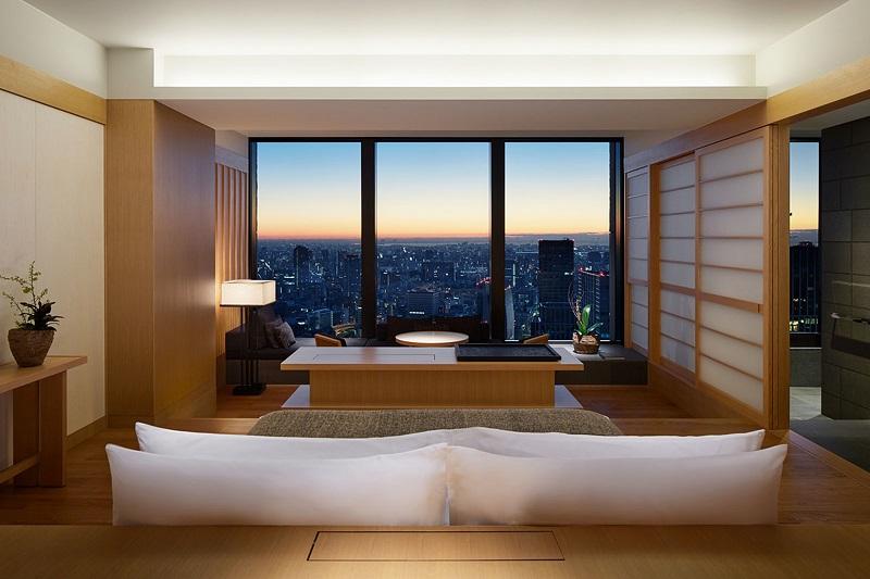 Habitación Aman Tokyo