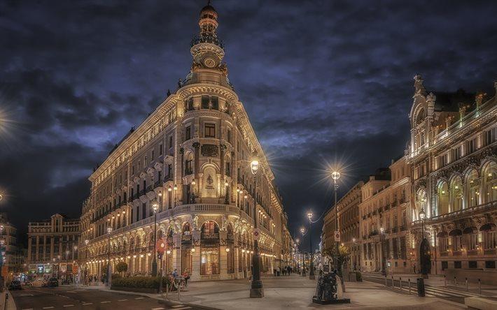 FOur Seasons Madrid noche