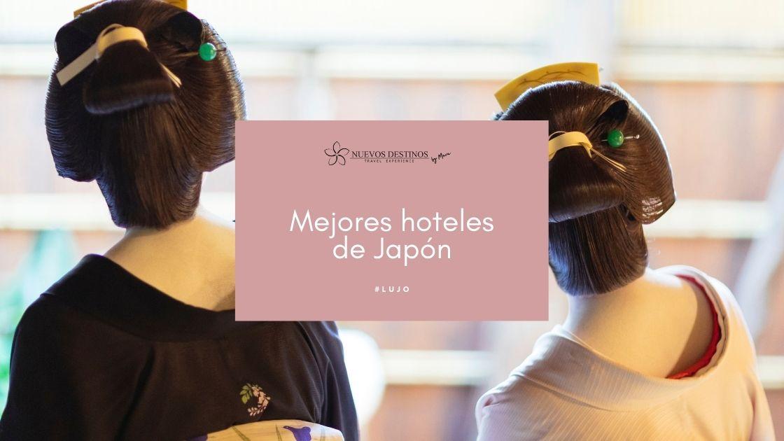 8 hoteles de lujo en Japón para un viaje inolvidable