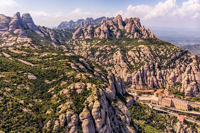 Montserrat vista aérea