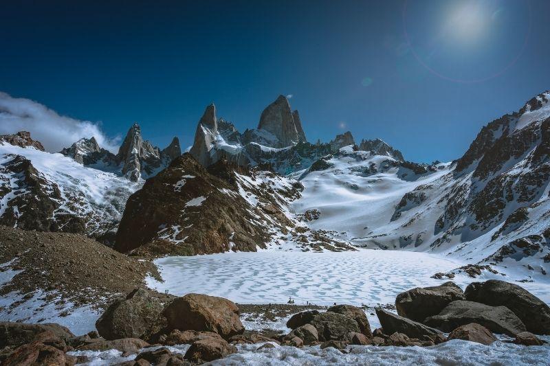 Torres del Payne nevado