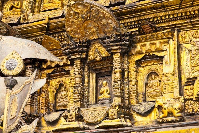 Templo dorado de Patán