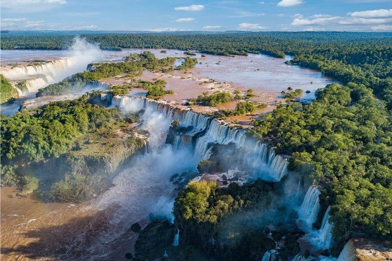 Iguazú desde las alturas