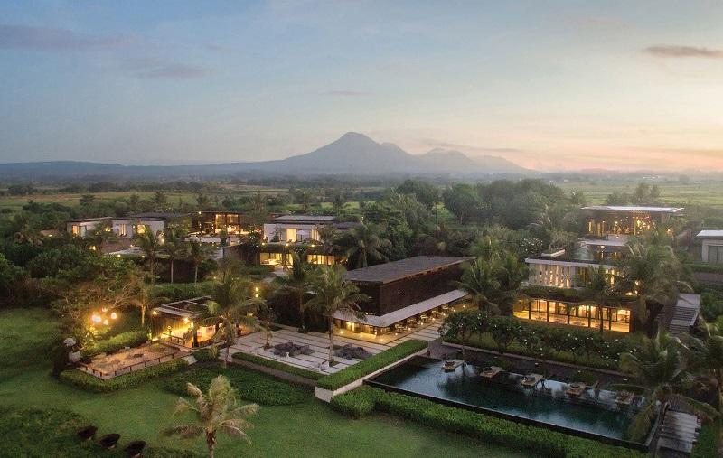 Vista aérea Soori Bali