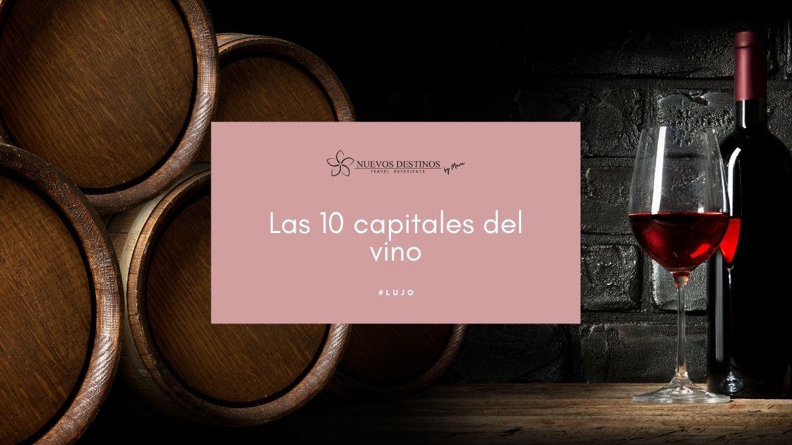 capitales del vino