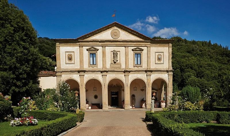 Fachada de Villa San Michele
