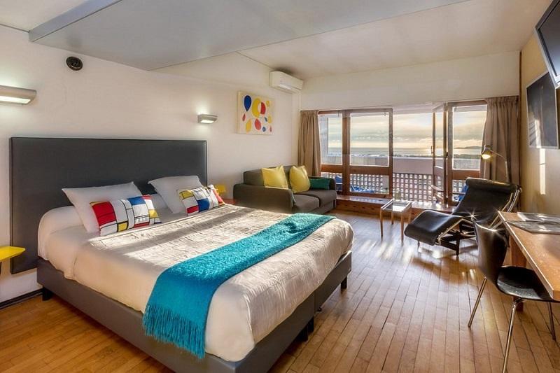 Habitación Hotel Le Corbusier