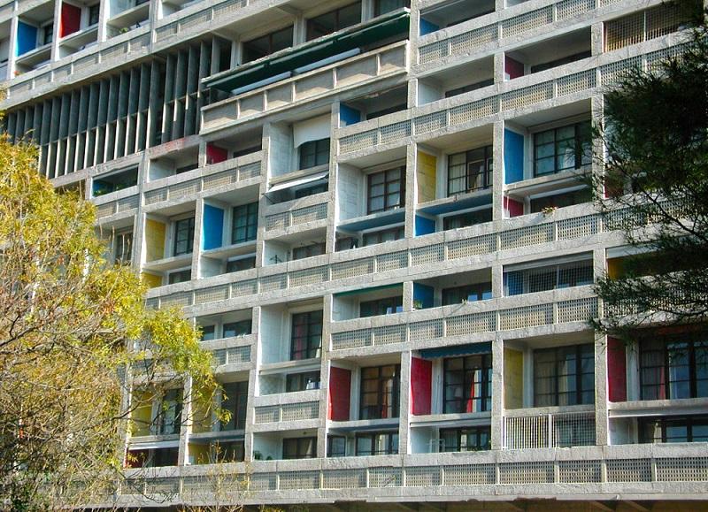 Ventanas del Hotel Le Corbusier