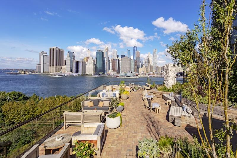 Terraza del Hotel Brooklyn Bridge